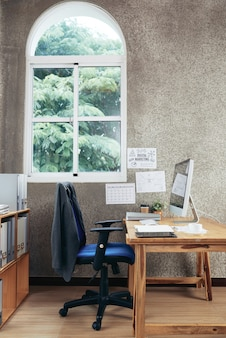空の事務室