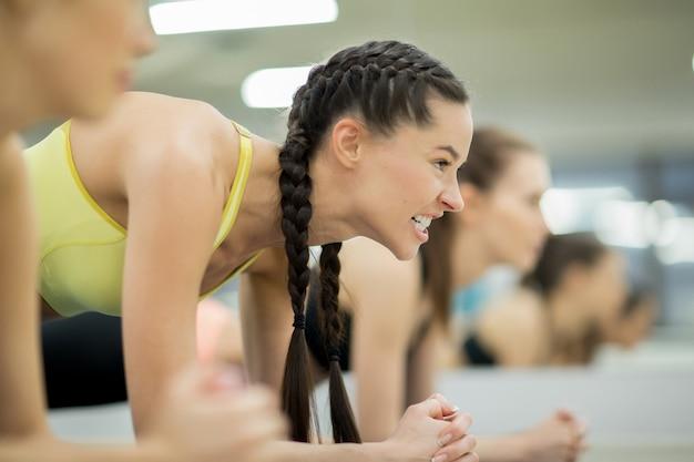 女の子のトレーニング