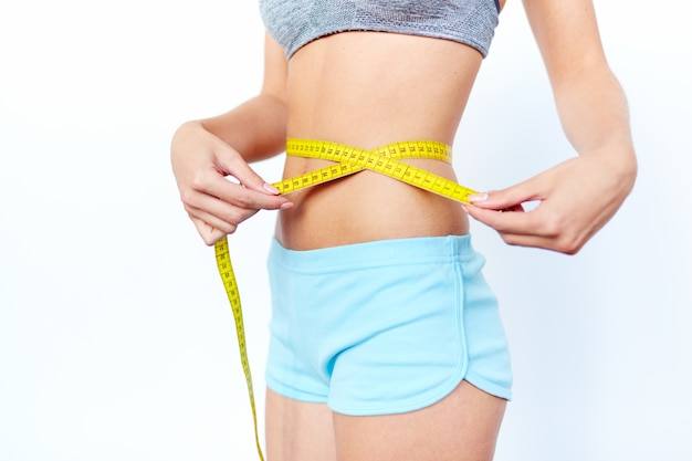 腰の健康減量クローズアップ図