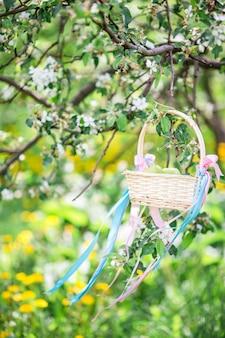 春の日に桜の花