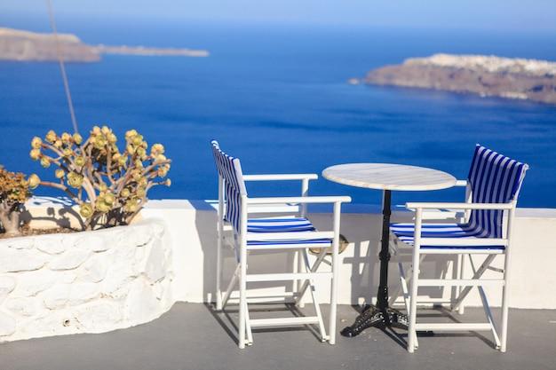 ギリシャ、ヨーロッパのサントリーニ島