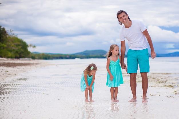 幸せな家族休暇