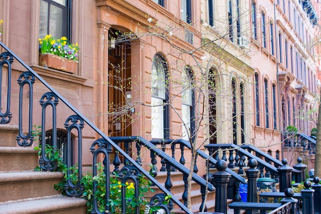 ニューヨークマンハッタンのウェストビレッジ
