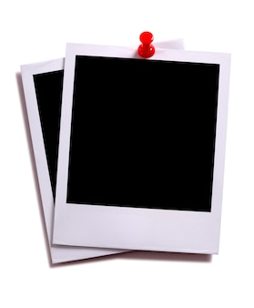 ポラロイドの写真