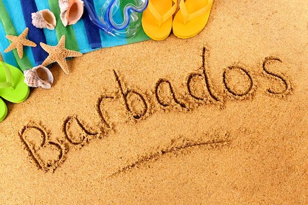 Барбадос пляж писать