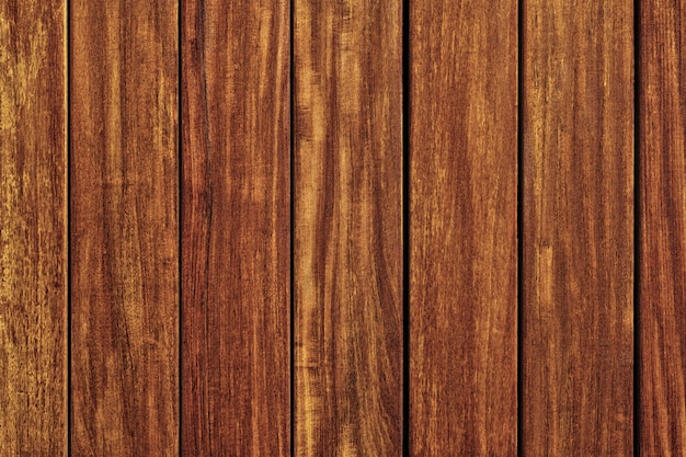 古いチーク材の木製の壁の背景