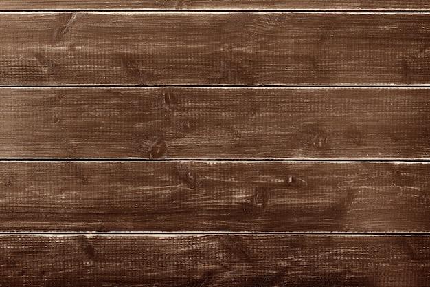 古いビンテージダークブラウンの木の板の背景
