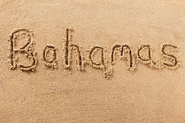 Багамские острова пляж написание сообщения концепция летнего отдыха