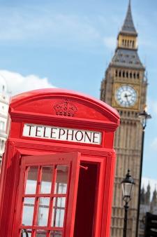 ビッグベンの電話ボックス