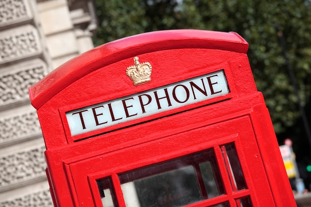 公衆電話ボックス