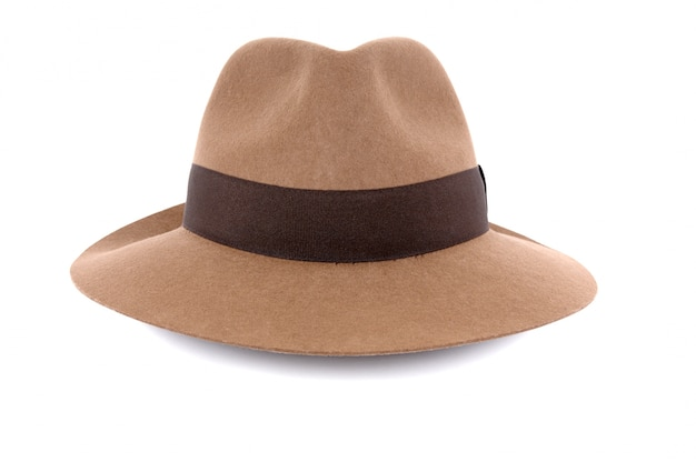 古いフェドーラ帽