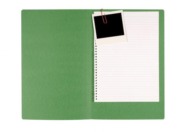 Управления папку с поляроидной фото