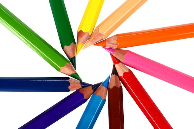 クレヨン色鉛筆