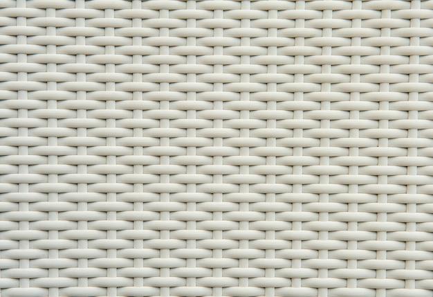 白い枝編み細工品