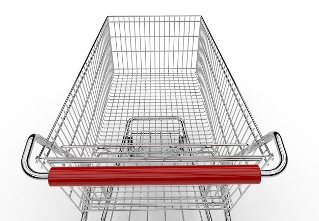 空っぽのショッピングカート