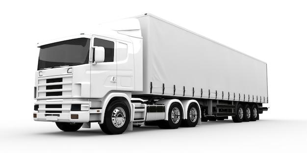 白いトラック