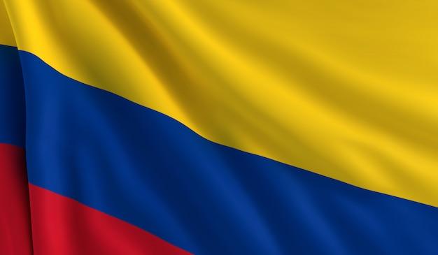 コロンビアの旗