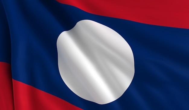 ラオスの旗