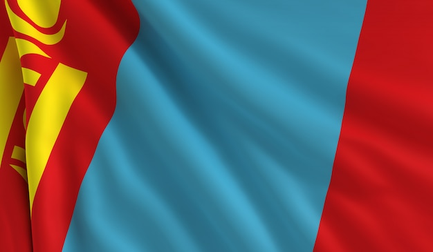 モンゴルの旗