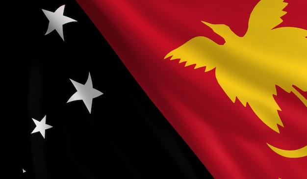 パプアニューギニアの旗
