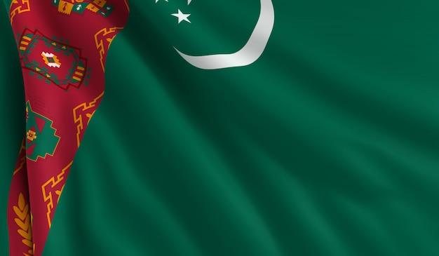 トルクメニスタンの旗