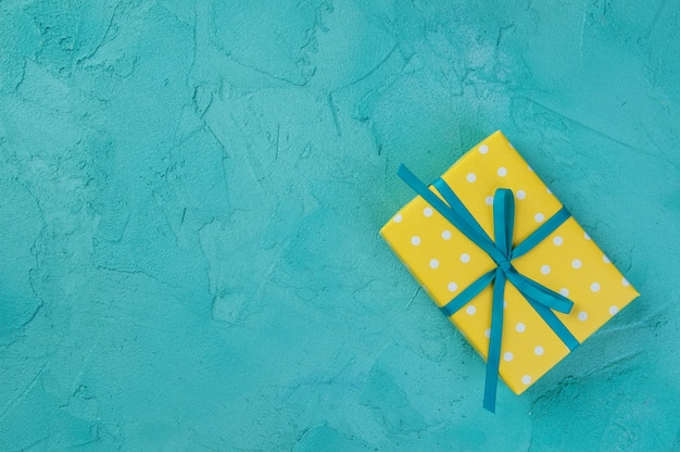黄白の水玉ボックス