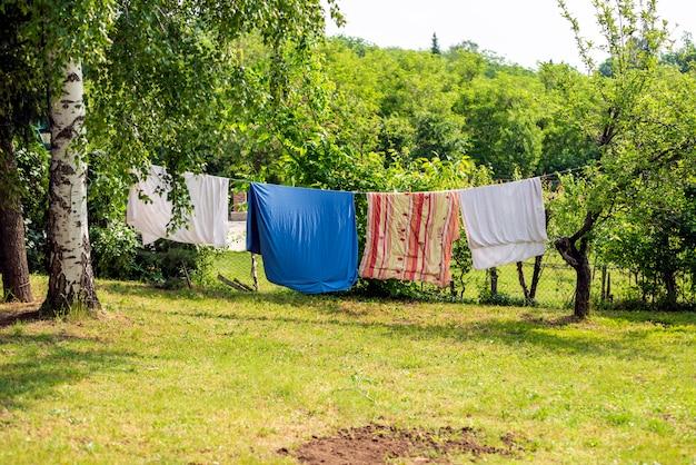 いくつかの洗濯をする