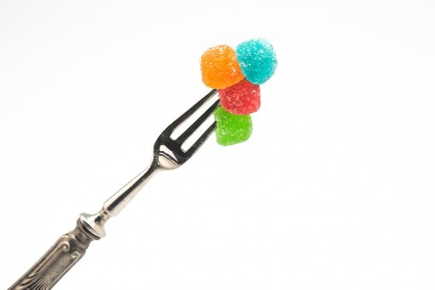 健康の概念。そして不健康な砂糖の乱用