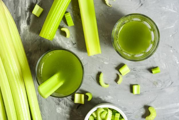 Сельдерей здоровый зеленый сок