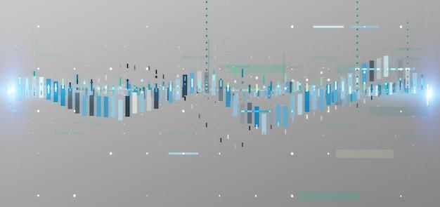 Бизнес-данные биржи торговых данных, изолированные на