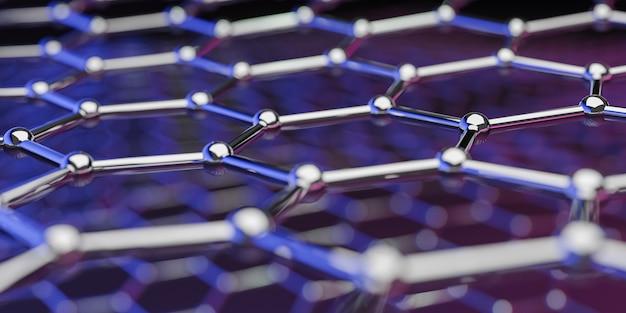 グラフェン分子ナノテクノロジー構造の見方