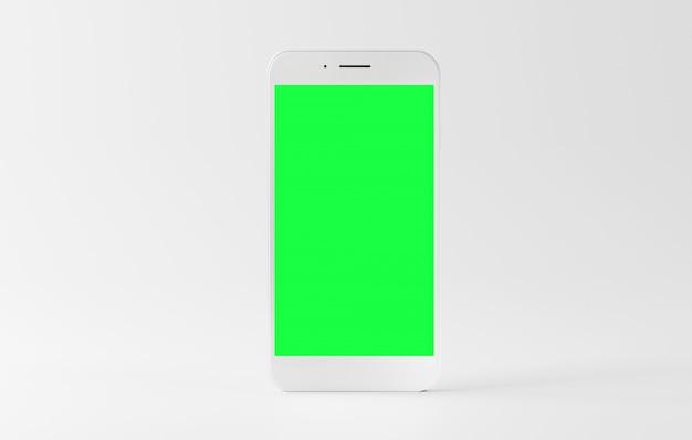 Макет изолированного смартфона