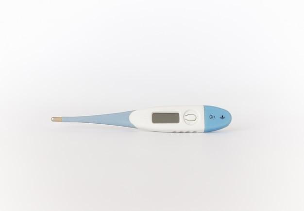 Электронный современный термометр изолированный
