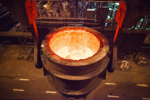 Производство стали в электропечах