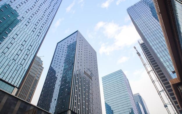 Солнечный район синяя бизнес-башня
