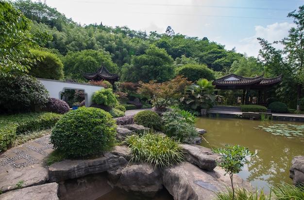 中国庭園チューリッヒ