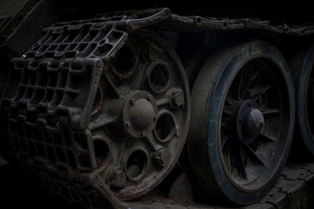 トラックと車輪