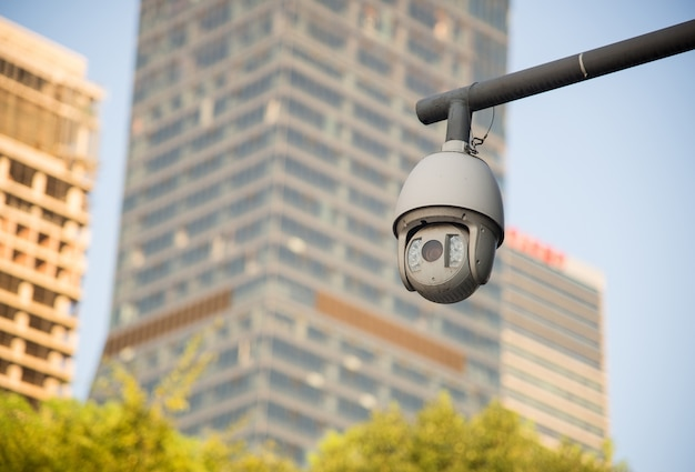 セキュリティカメラと都市ビデオ