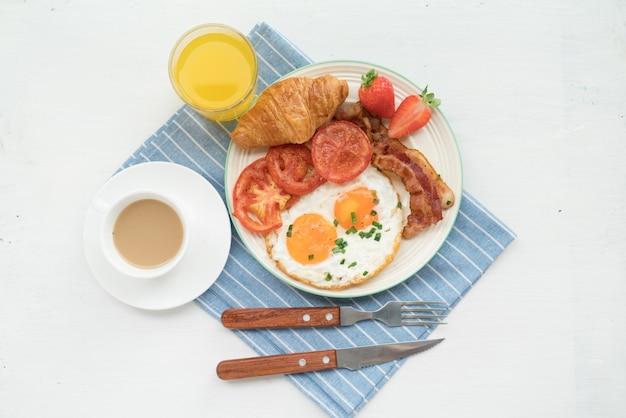 栄養価の高い朝食