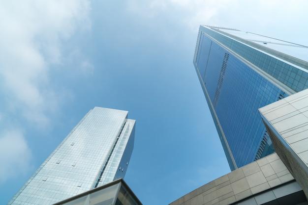 商業地区の高層ビル、重慶