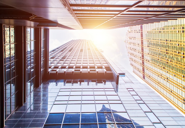 現代の高層ビルビュー