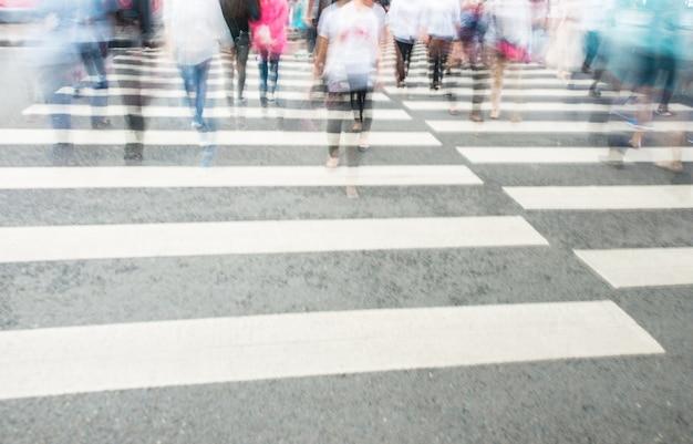 人との横断歩道