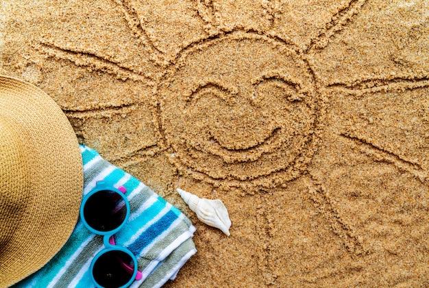 ビーチオンーテーブルのビーチ用品
