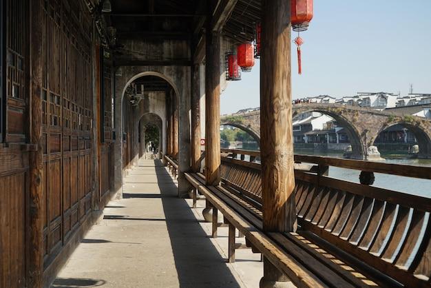 唐西古代町、湖州、浙江省、中国