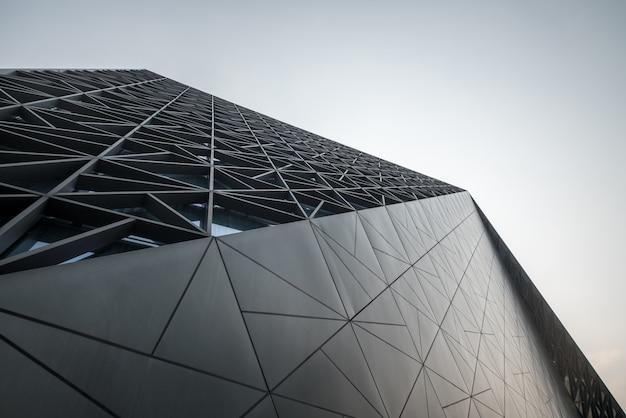 中国、重慶のアートセンターの近代建築