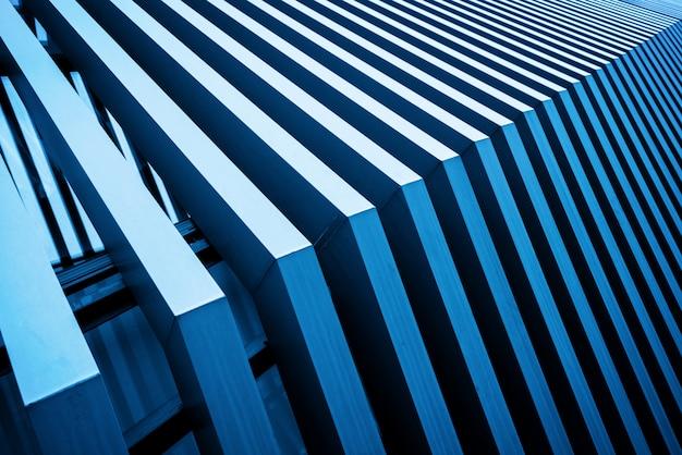 抽象的な建築構造のクローズアップ
