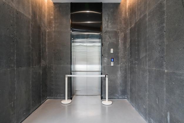 アートセンターのエレベータールーム