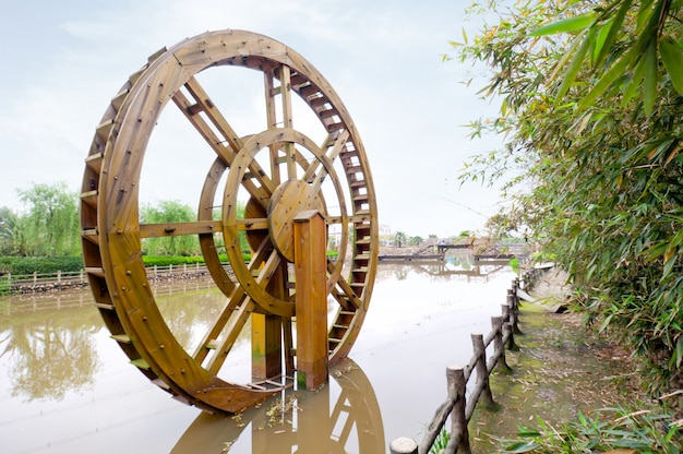 古代の灌漑用具