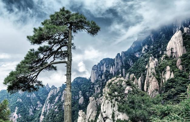 有名な黄山