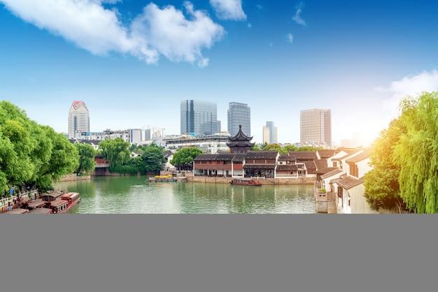 江蘇省周荘の風景